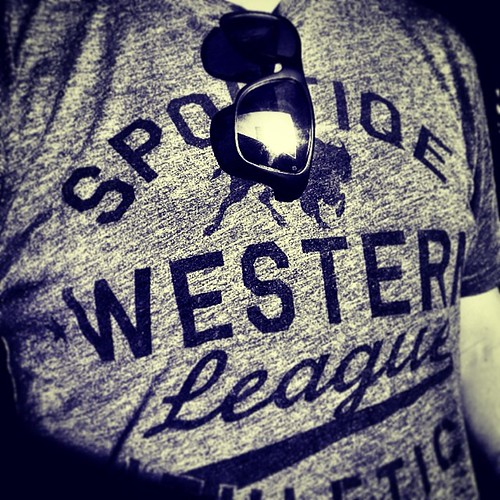 Sportiqe Western League Graphic T Shirt