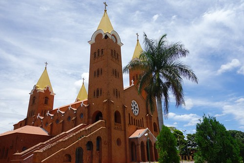 Church in Romaria, Brazil