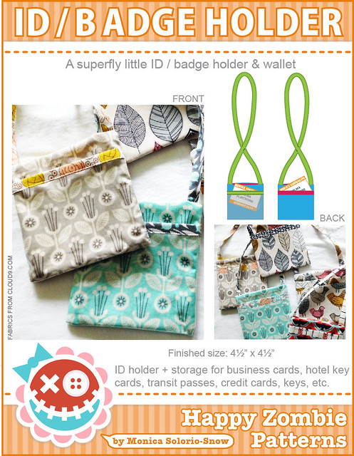 ID /Badge Holder PDF sewing pattern