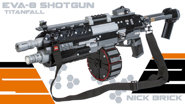 Titanfall EVA-8 Shotgun