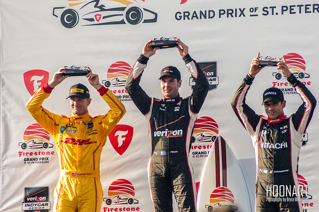 2014 Firestone Grand Prix podium winners