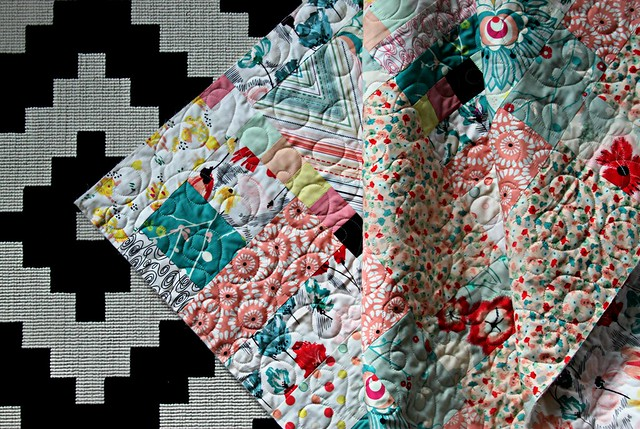 Rapture Making Rows Quilt