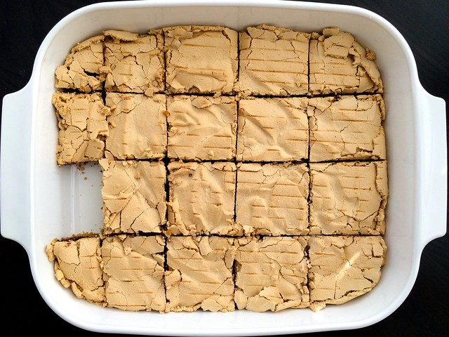 Butterscotch Chocolate Meringue Bars by @javelinwarrior