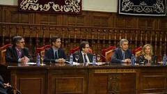 Mesa inaugural del acto completa