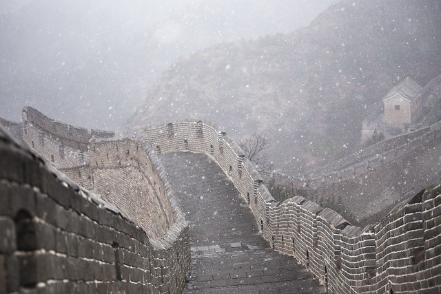 A Snow Kissed Great Wall