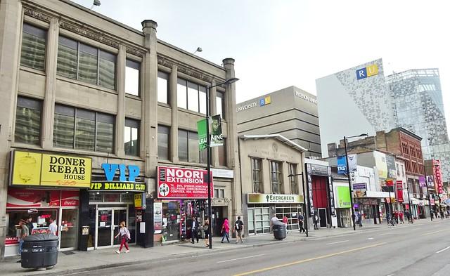 Yonge St. South of Gerrard, Toronto 2015