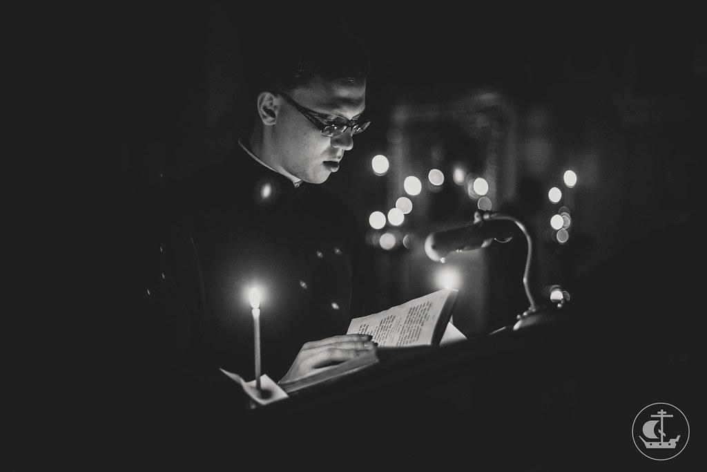 19 марта 2017, Ночная Литургия. Монашеский постриг Марии / 19 March 2017, Divine Liturgy in the night. Monastic vows. Nun Maria