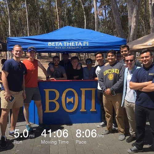 It's rush week, and even years out there's a certain compulsion to go hang with the Beta boys. . . . . @beta ucsd @betathetapi #betathetapi #rush #run #spring #sandiego #ucsd #ucsdalumni