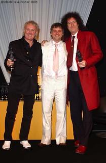 Roger Taylor & Brian May @ 50th Ivor Novello Awards - 2005