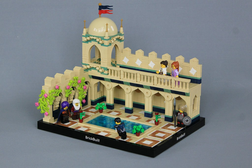 Katoren Courtyard (custom built Lego model)