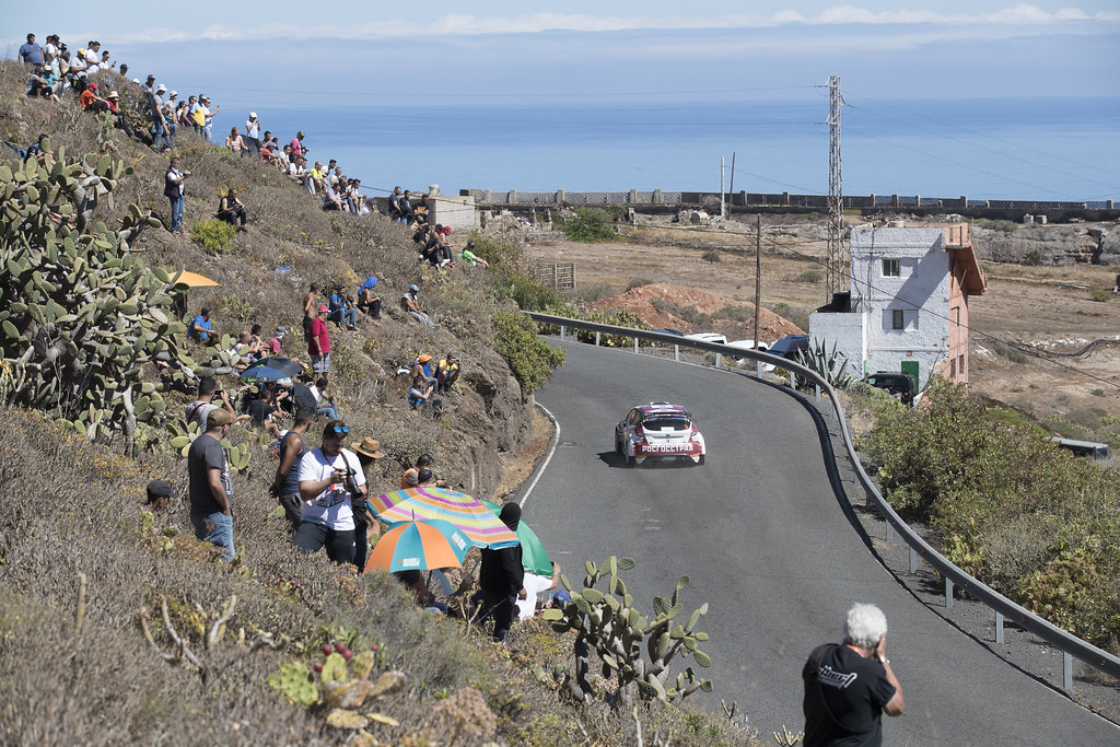 05 LUKYANUK Alexey (RUS), ARNAUTOV Alexey (RUS),  Ford Fiesta R5 Action during the 2017 European Rally Championship ERC Rally Islas Canarias, El Corte Inglés,  from May 4 to 6, at Las Palmas, Spain - Photo Gregory Lenormand / DPPI