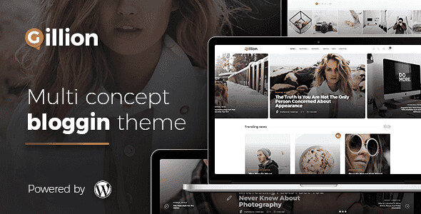 Gillion WordPress Theme free download