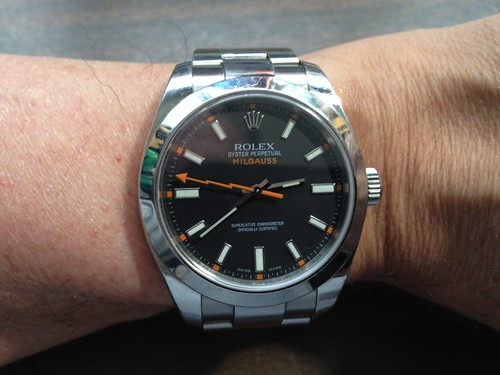 Rolex Oyster Perpetual Milgauss Automatic Chronometer