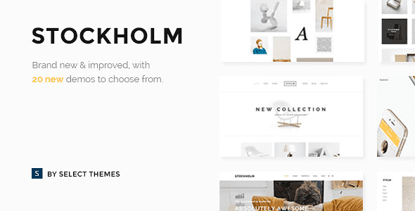 Stockholm WordPress Theme free download