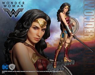 女神降臨,壽屋ARTFX 系列[神力女超人]WONDER WOMAN1/6 比例全身雕像作品