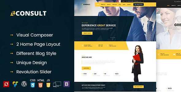 Consult WordPress Theme free download