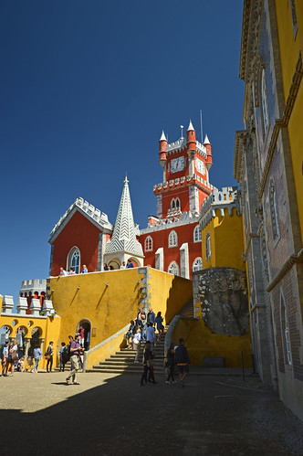 Yellow and Red and Pena Palace