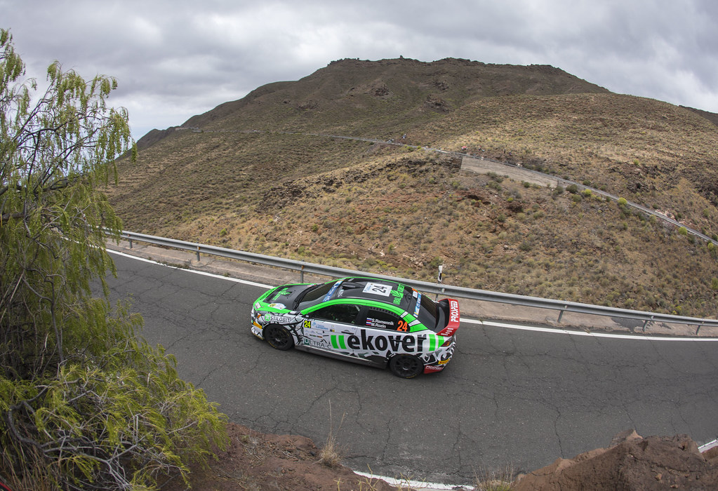 24 REMENNIK Sergei(RUS), ROZIN Mark (RUS), Mitsubishi lancer EVO X , Action during the 2017 European Rally Championship ERC Rally Islas Canarias, El Corte Inglés,  from May 4 to 6, at Las Palmas, Spain - Photo Gregory Lenormand / DPPI
