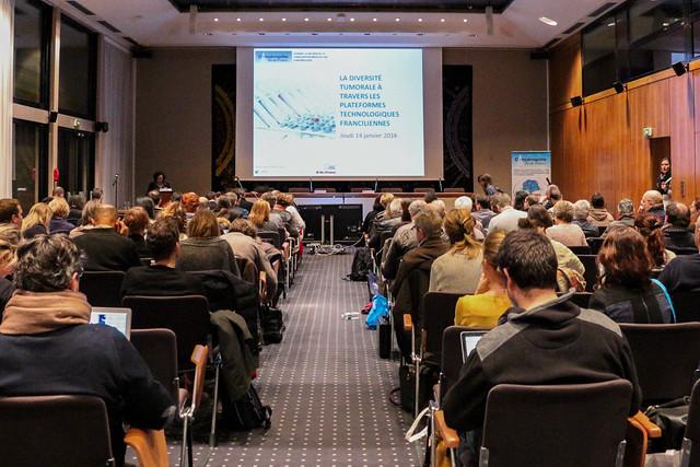 14/01/2016 - La diversité tumorale à travers les plateformes technologiques franciliennes