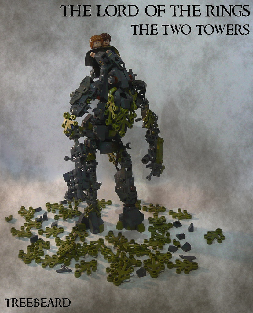 MELO Round 1: Treebeard (custom built Lego model)