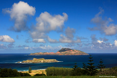 View of Phillip Island and Nepean Islands From Queen Elizabeth Lookout, Norfolk Island