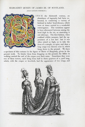 Dresses and Decorations of the Middle Ages