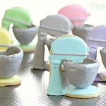 Cute 3D Stand Mixer Cookies Recipe by 1 Fine Cookie