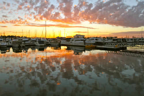 Mandurah this evening