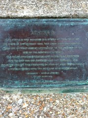 Photo of Athina B bronze plaque