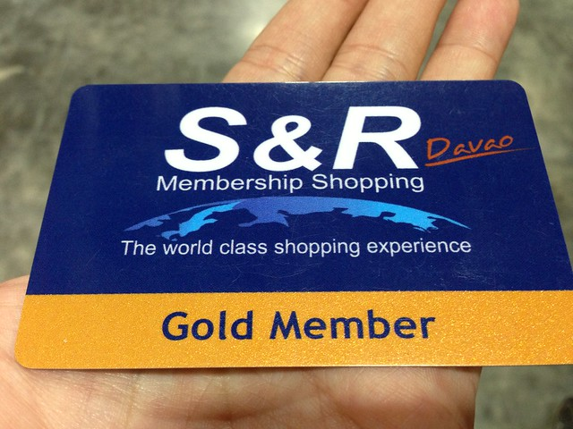 S&R Membership shopping warehouse store in Davao City