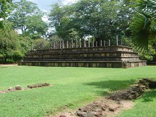 Council Chamber ( Raja Sabahawa)-Polonnaruwa