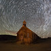 Bodie Church Star Trails by Jeffrey Sullivan
