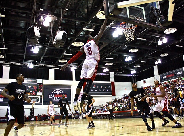 Jermaine Taylor - 2013 NBA Summer League