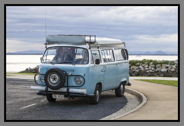 vw kombi at scarborough 1 flickr photo sharing. Black Bedroom Furniture Sets. Home Design Ideas