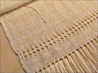 A Taste of Honey shawl