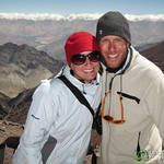 Dan & Audrey at the Top of Gongmaru La Pass - Ladakh, India