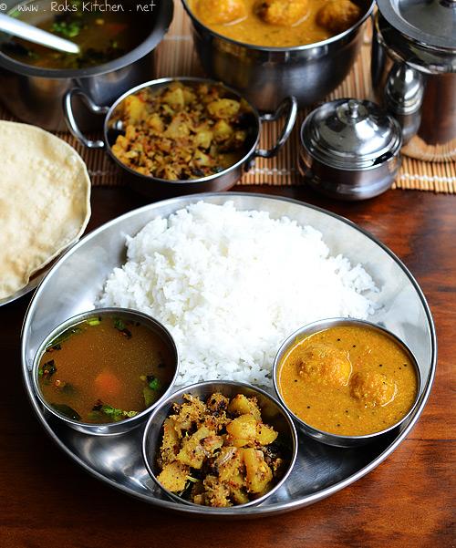 urundai kuzhambu, vazhakkai curry, rasam