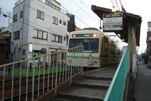 2013/08 叡山電車 きんいろモザイク ヘッドマーク車両 #01