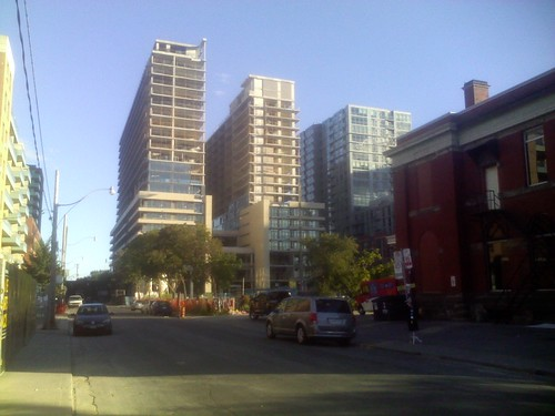 Queen and Lisgar, looking south, August 2013