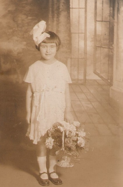 Mom as Flower Girl