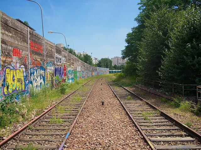 Paris Abandoned Railway Line