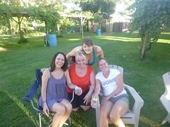 Goreti, Taina, Alicia, Tiina
