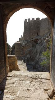Lindos közelében Líndos képe. door sun open greece grecia porta sole rhodes rodi lindos aperto ελληνικά ρόδοσ ἑλλάσ λίνδοσ