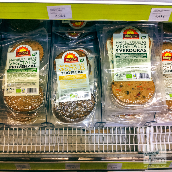 Vegan Finds at Groceries, Valencia, Spain