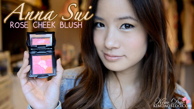 Anna Sui Rose Cheek Blush Review