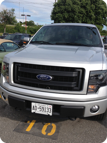 Ford F150, ready to go!
