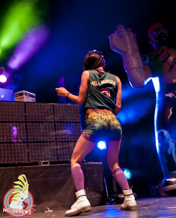 MAJOR LAZER AT MAD DECENT BLOCK PARTY IN MICHIGAN