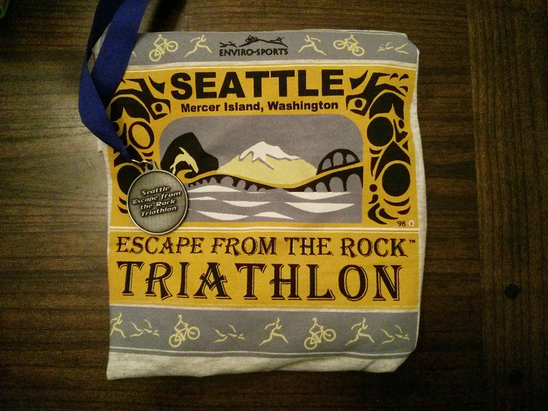Escape the Rock Shirt and Medal