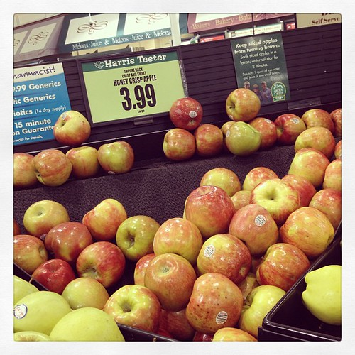 Hurray! Honey crisp apples are in. #weekinthelife #fall