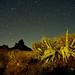 La Via Láctea desde La Solana de Tejeda en Gran Canaria